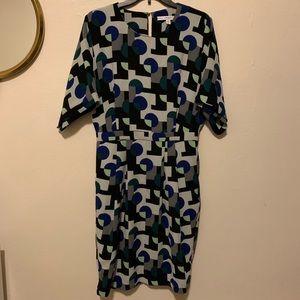 & other stories geometric dress